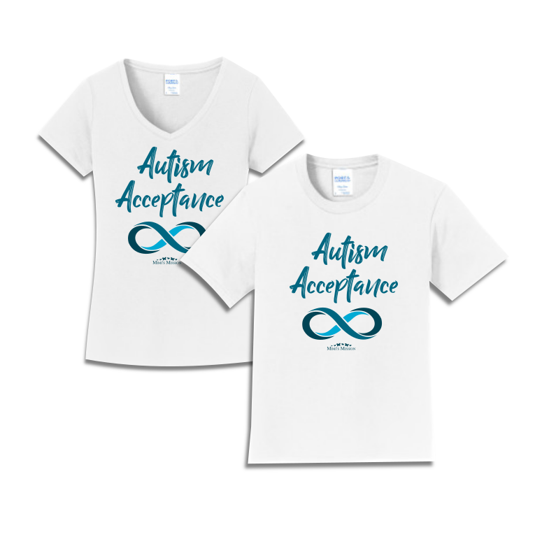 Infinity Autism Acceptance Tees (Teal)