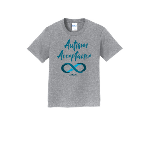 Crew Infinity Autism Acceptance 50/50 Blend Tees (Teal)
