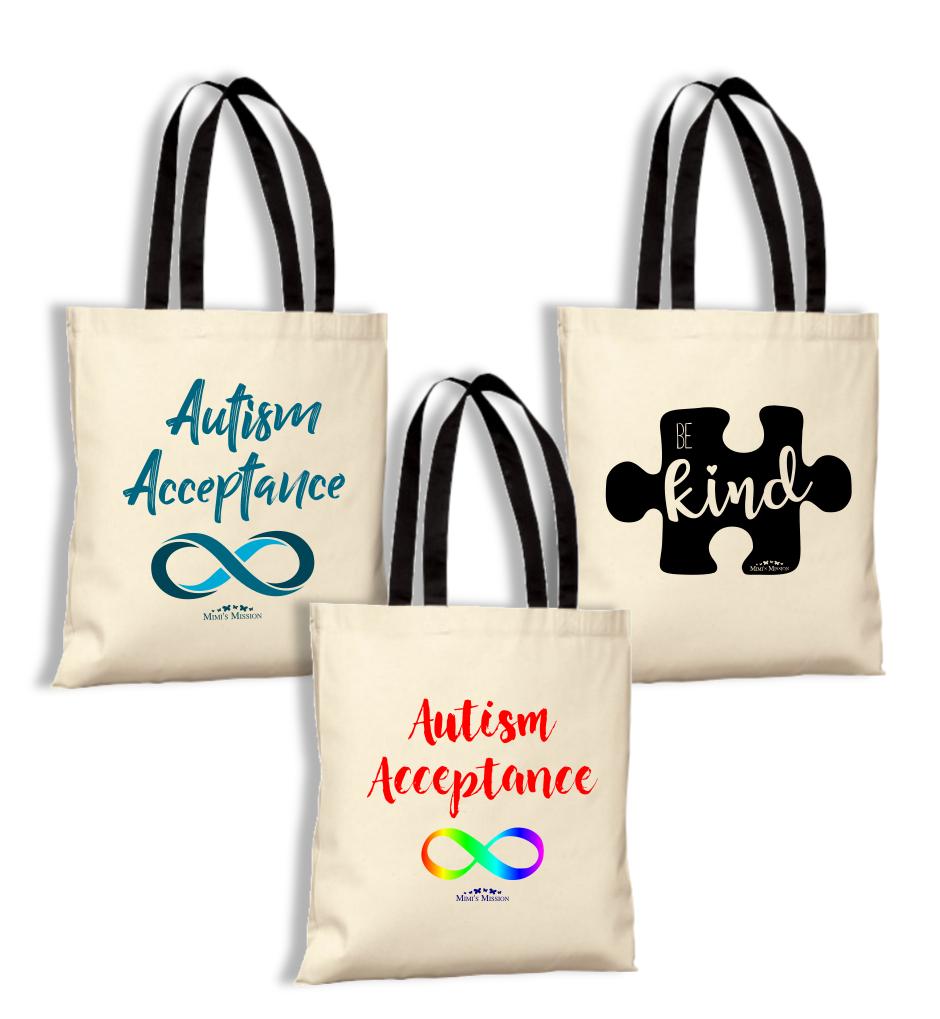 Autism Awareness/Acceptance Totes